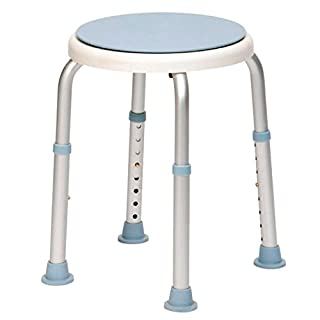 Drive Rotating Rounded Bath / Shower Stool with Swivel Seat