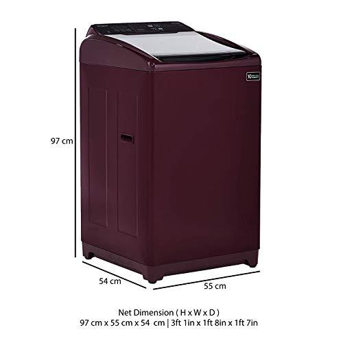 Whirlpool 7 kg 5 Star Fully-Automatic Top Loading Washing Machine (WHITEMAGIC ELITE 7.0, Wine, Hard Water Wash)