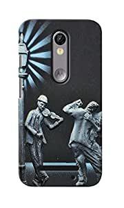 KnapCase Music & Dance Designer 3D Printed Case Cover For Motorola Moto X Force