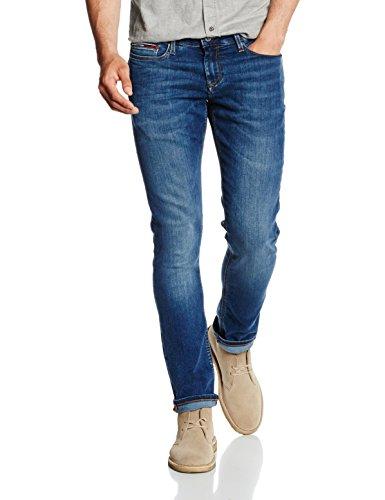 Tommy Hilfiger SIDNEY, Jeans da Uomo, Blu (Sea Breeze Indigo Comfort 911), W34/L34