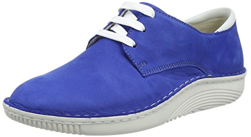Berkemann  Faria, Derby femme Bleu - Blau (378 azurblau)