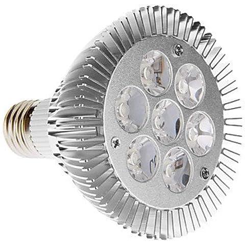 PAR30 E27 7W 30 LED 6000K luce bianca fredda LED