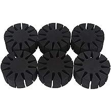 GLOGLOW 6 Piezas Durable EVA Espuma Redonda Estante de Flecha, Flechas durables Separador aljaba Caza
