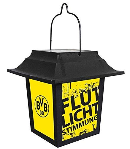 Borussia Dortmund BVB Fanartikel Solarlaterne Laterne Gartenlicht Terrassen Teich Licht