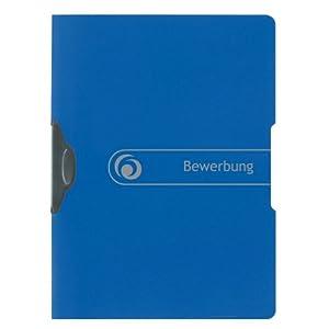 Herlitz 11206638 Express-Clip Application File A4 Polypropylene Pack of 5 Blue