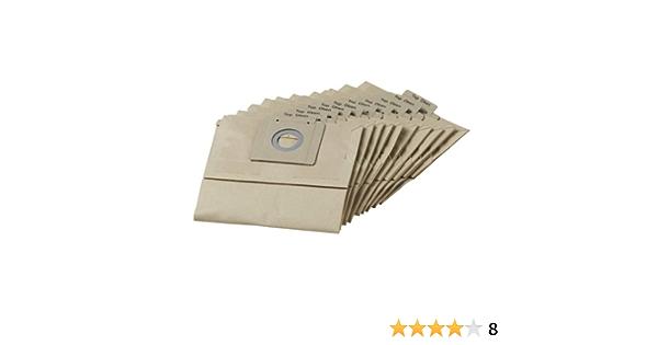 10 Premium Staubsaugerbeutel passend für Kärcher NT 360 Eco X--PERT...