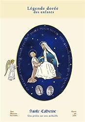 Sainte Catherine. Une prière sur une médaille