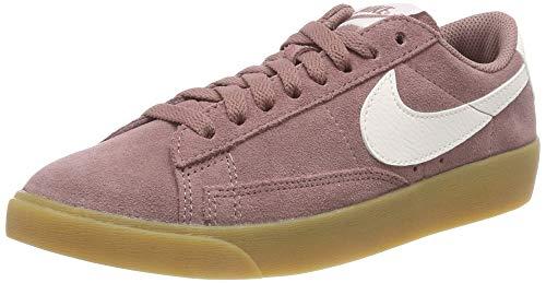 Nike Damen W Blazer Low SD Fitnessschuhe, Violett (Smokey Mauve/Sail/Gum Lt Brown 201) , 39 EU