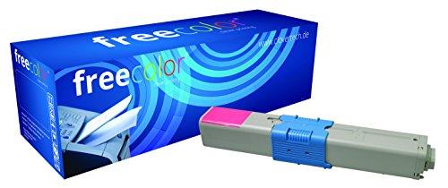 Preisvergleich Produktbild Freecolor 44469705 für Oki C310, Premium Toner, wiederaufbereitet 2000 Seiten, bei 5% Deckung, magenta