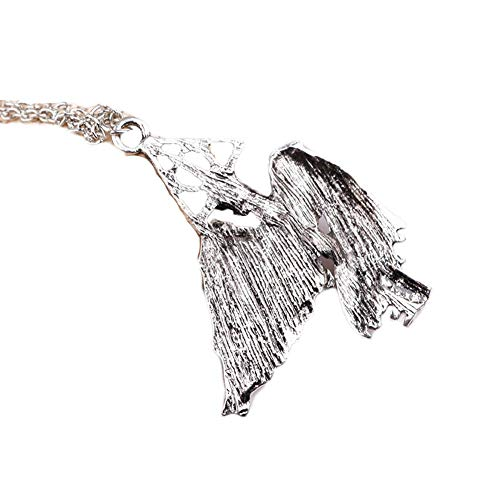 Shuiyibali Jewelry Favor Europe and America Hot Fashion Peripheral Accessories Film Deathly Hallows Flying Wing Collar Necklace