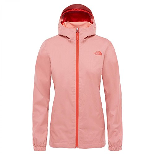 The North Face Damen W W Quest Jacket, Desert Flower O, M (North Face Softshell Jacke)