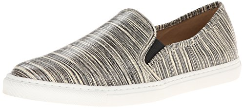 Splendid Seaside Cuir Baskets Black Stripes
