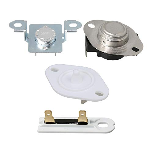 RDEXP Dryer Replacement Part Thermostat Thermal Cut-Off Fuse Kit 279973 &  Dryer Thermal Fuse WP3392519 & Dryers Thermistor 8577274