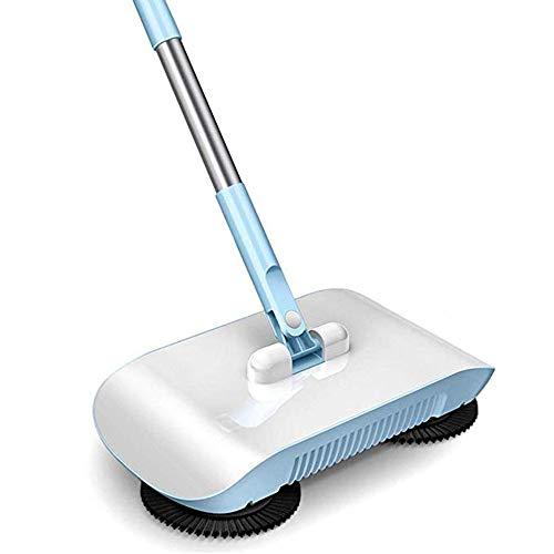 SSRSHDZW Hand-Push-Kehrmaschine Haushaltsreinigung Hand-Push-Kehrmaschine 2-In-1-Kehrmaschine Für Den Privaten Gebrauch Geeignet Für Alle Bodenarten
