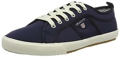 Footwear Herren Samuel Sneaker, Blau (Marine), 44 EU GANT
