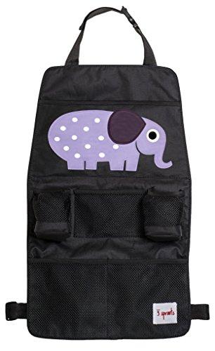 3 Sprouts Rücksitz Organizer Elefant - Bild 1