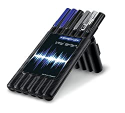 Staedtler Triplus Mobile Office In Black Box (Pack Of 6)