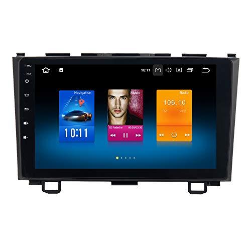 """Dasaita 9\"""" Android 9.0 Autoradio Bluetooth Coche para Honda CRV 2007-2011 1 DIN Radio GPS Coche 4G RAM 32G ROM Soporte WiFi Dab+ USB FM/Am Mandos de Volante"""
