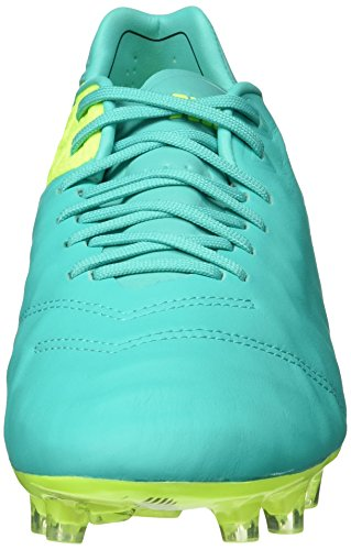Nike Tiempo Legend VI FG, Chaussures de Football Homme, UK Vert - Verde (Clear Jade / Black-Volt)