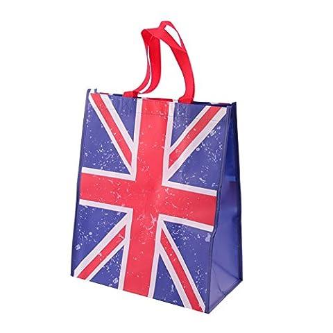 Einkaufstasche Union Jack aus stabilem Polypropylen (George Englische Flagge)