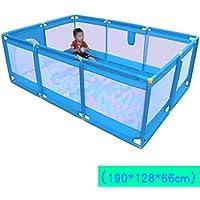 LFY Centre d'activités et de Jeux pour Parc de bébé Plus Long, Bleu