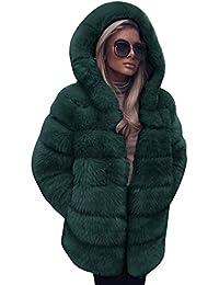 SamMoSon Discount,Blouson Femme Camouflage Manteaux et Vestes maternité Mode  Luxe Faux Fourrure Manteau Encapuchonné L automne… 11a6b11422d5