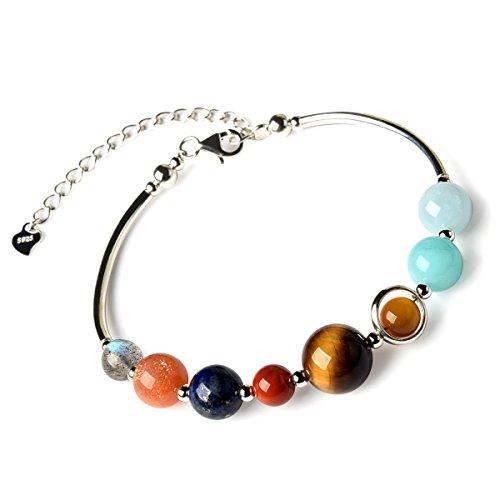 925-sterling-silver-natural-genuine-semi-precious-solar-system-crystals-bracelet