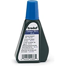 Trodat 7011 Sello de color, 28 ml, azul