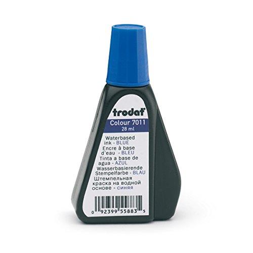 Trodat 7011 Stempelfarbe, 28 ml, blau