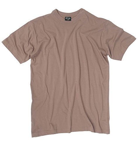 Mil-Tec T-Shirt US Style Co. BDU-Brown Gr.XL