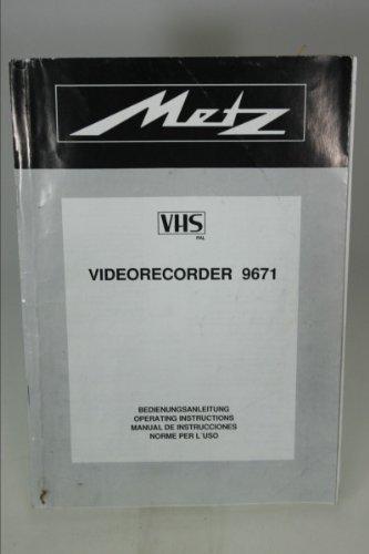 original-manuel-metz-9671-magnetoscope-vhs