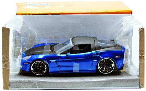 jada-toys-96804bl-vehicule-miniature-modele-a-lechelle-chevrolet-corvette-z06-echelle-1-24