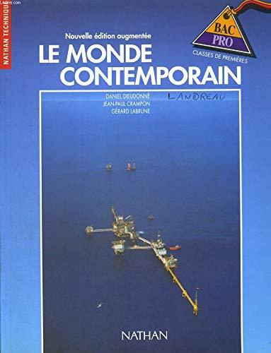 Histoire géographie, monde contemporain, 1re professionnelle, élève, 1992
