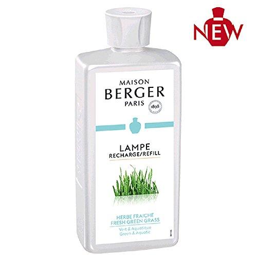 Lampe Berger - Herbe fraiche/Fresh Green Grass/Frisches Gras - Raumduft - Nachfüllflasche - 500 ml -