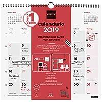 Finocam 780070019 - Calendario de pared 2019