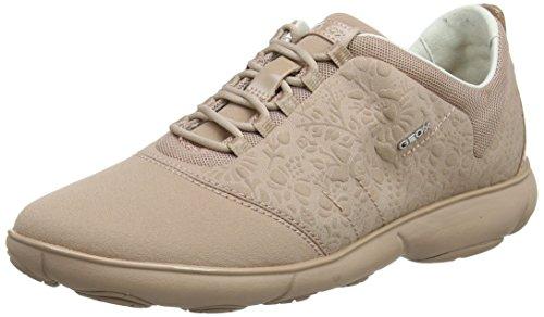 Geox Damen D Nebula A Sneaker, Pink (Antique Rose), 41 EU -