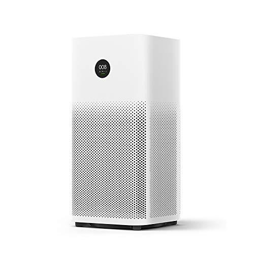 YHML Luftreiniger für große Räume 2S Sterilisator Zugabe zu Formaldehyd Waschen Reinigung Smart Home Hepa Filter Smart APP WiFi, Weiß (Plug-in Hepa-luftreiniger)