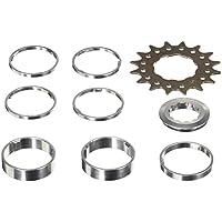 Point Ritzel Single-Speed, Cr-mo Stahl, Aluminium, Distanzring-Set 4x3 Mm/ 1x5 Mm/ 2x10mm