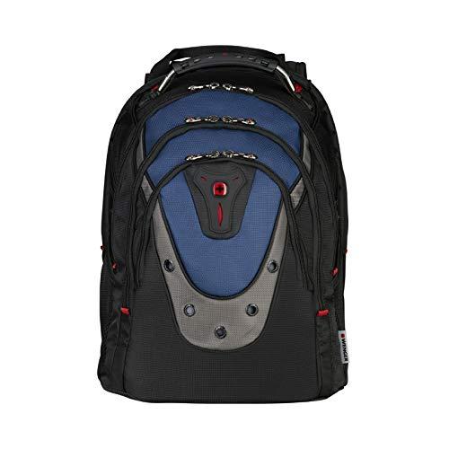 Wenger 600638 IBEX 17-Zoll-Laptop-Rucksack, Triple schützen Fach mit iPad/Tablet / eReader Pocket in blau {23 Liter} -