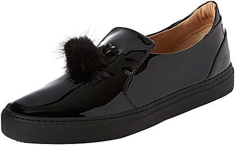 Fratelli Rossetti 75379, Slip femme chaussures - noir -, 38 EU