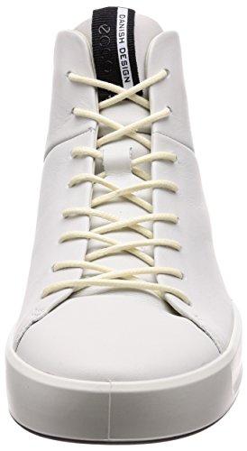 ECCO Soft 8 Mens, Sneaker a Collo Alto Uomo Bianco (White) ...