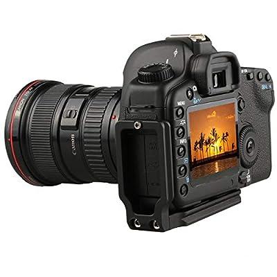 Shuangyu Grip Vertical Shooting Handle Quick Release Plate DSLR Camera Holder for Nikon D750 D810 D7000 D7100 D7200 D610 D800 D800E D610 Compatible with Arca Swiss