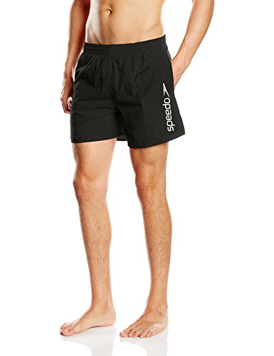 Speedo Herren Badeshorts Scope Elastic Waist, black, XXL, 8-013207725 (Boys Größe Speedo)