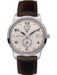 Junkers Herren-Armbanduhr Analog Quarz Leder 63345