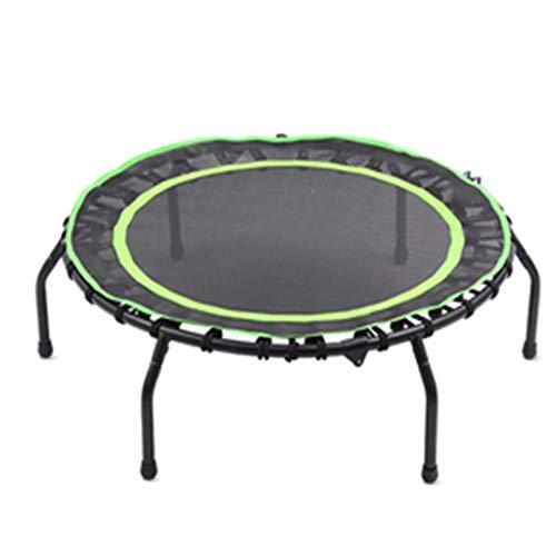 XYWLYLHOME Indoor-Fitness-Trampolin FüR Erwachsene - Stilles Trampolin FüR Kinder - Faltbar - GewöLbter Fuß - Mini-Trampolin - 40 Zoll