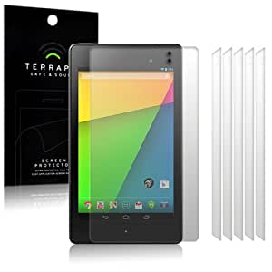 Google Nexus 7 2 Screen Protector Case / Guard / Film / Cover 6-in-1 Pack By Terrapin