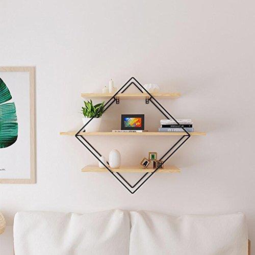 Shelves DUO Bücherregal Wandregale - 3 Tier Holz Regale, Bücherregale, Foto Display, Home Storage, Dekor von Schlafzimmer, Wohnzimmer, Küche, Büro Hängeregal, (größe : 100*22*80cm) 3-tier-bücherregal-regal
