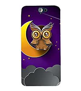 Fuson Designer Back Case Cover for HTC One A9 ( Abstact Art Paint Painting Illustrations )