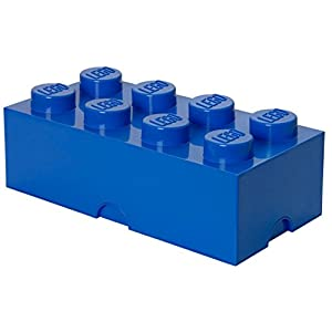 LEGO Brick 8 Knobs Stackable Storage Box 7