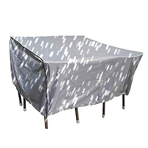 BAIYING-Abdeckung Gartenmöbel Verdickung Wasserdicht Schutzhülle Balkon Tisch- Und Stuhlgarnituren Mechanisch Staubschutzhaube Oxford Tuch, 34 Größen, Anpassbar